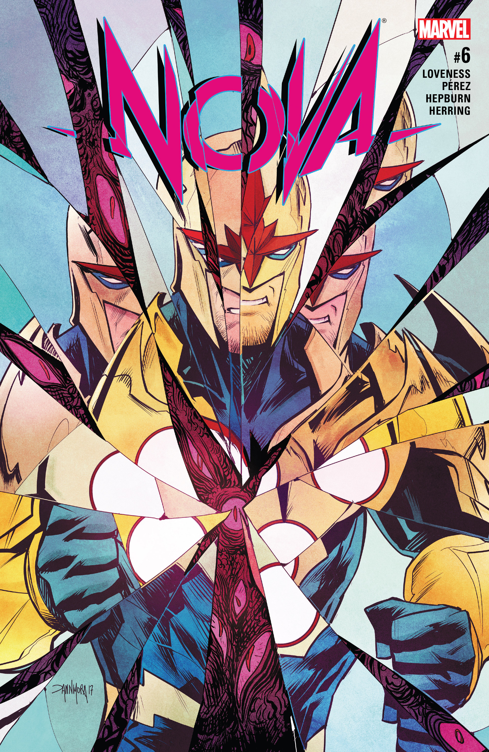Read online Nova (2017) comic -  Issue #6 - 1