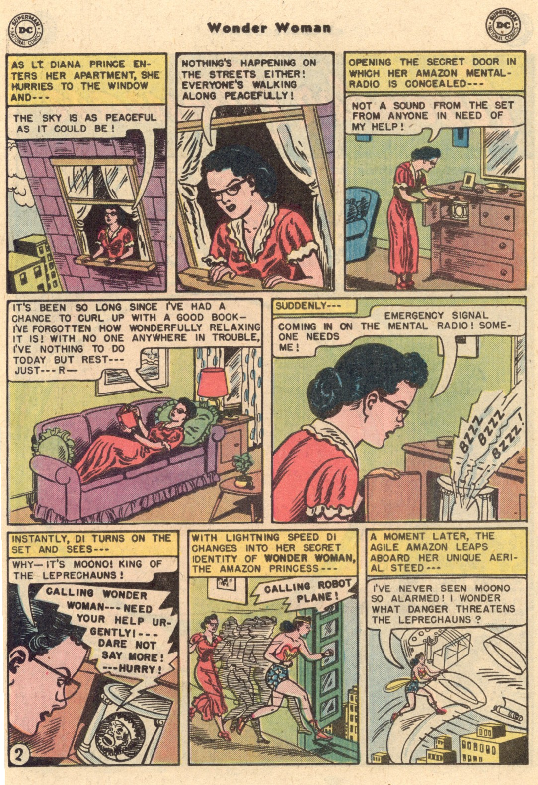 Read online Wonder Woman (1942) comic -  Issue #62 - 12
