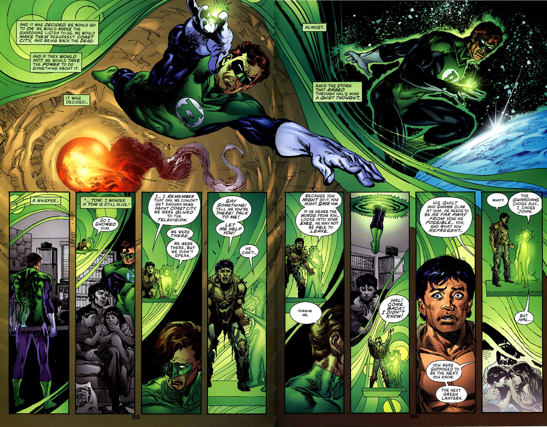 Read online Green Lantern: Legacy: The Last Will and Testament of Hal Jordan comic -  Issue # TPB - 95