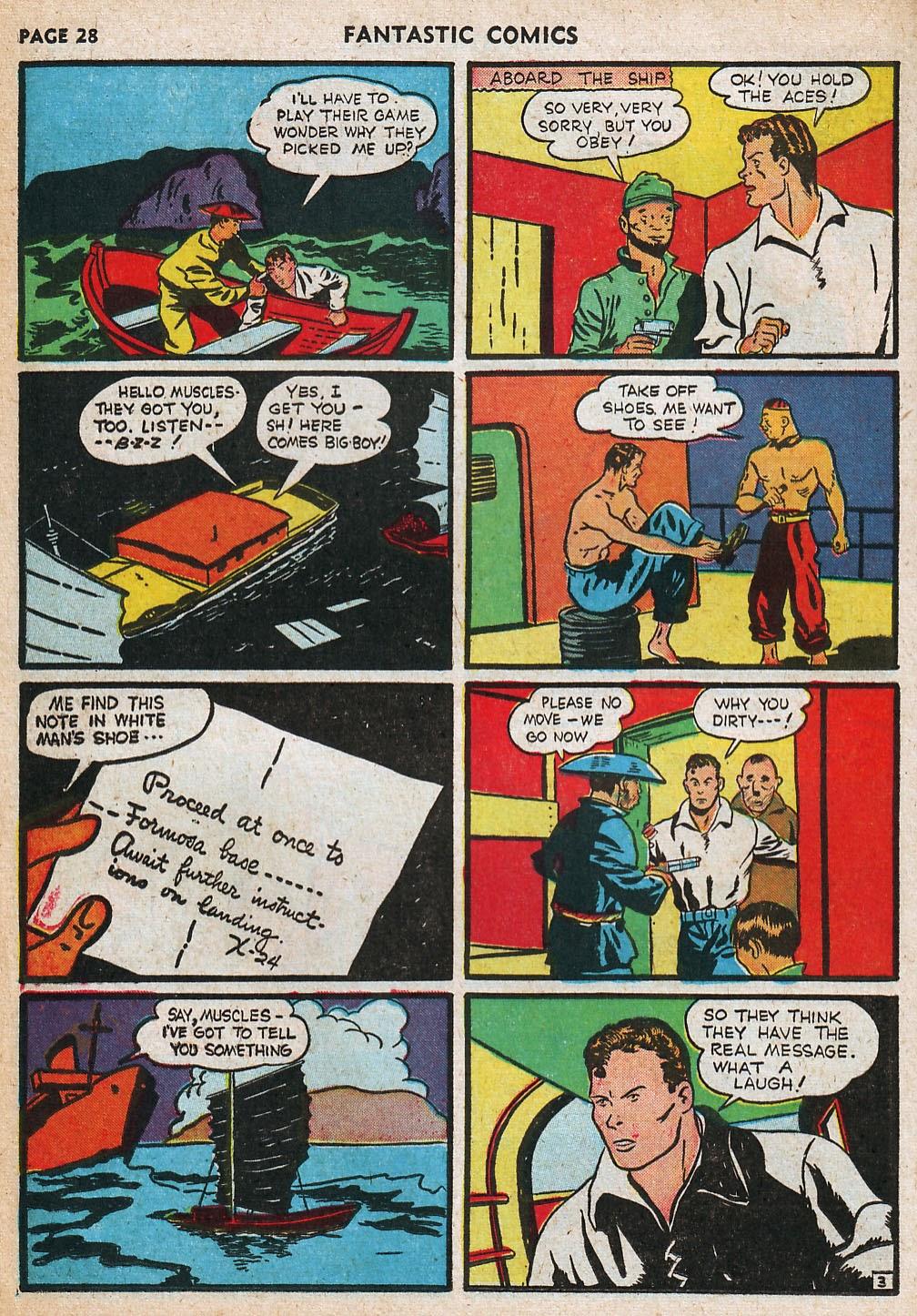 Read online Fantastic Comics comic -  Issue #20 - 29