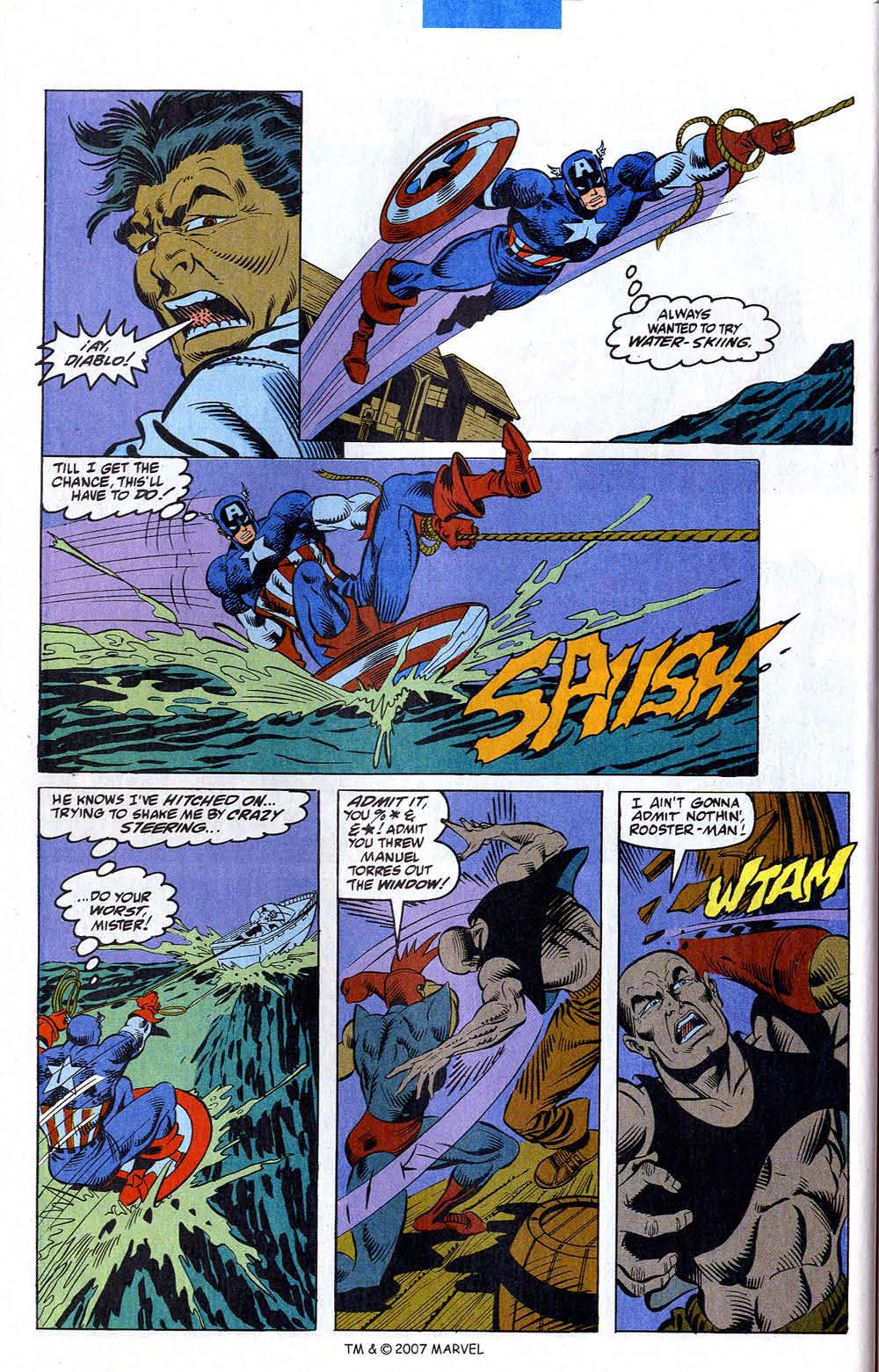 Read online Captain America (1968) comic -  Issue # _Annual 12 - 44