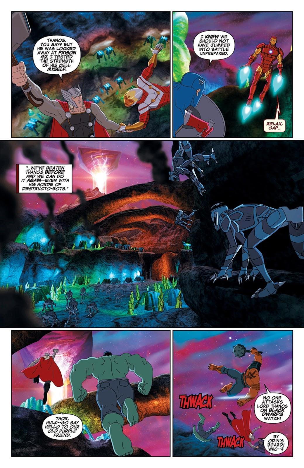 Read online Marvel Universe Avengers Assemble Season 2 comic -  Issue #15 - 12