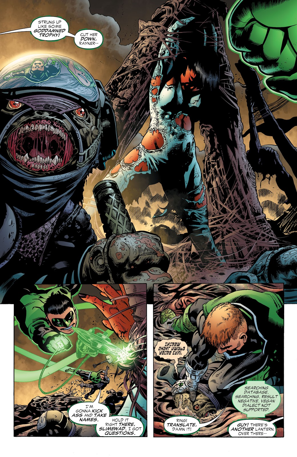 Read online Green Lantern by Geoff Johns comic -  Issue # TPB 1 (Part 3) - 36