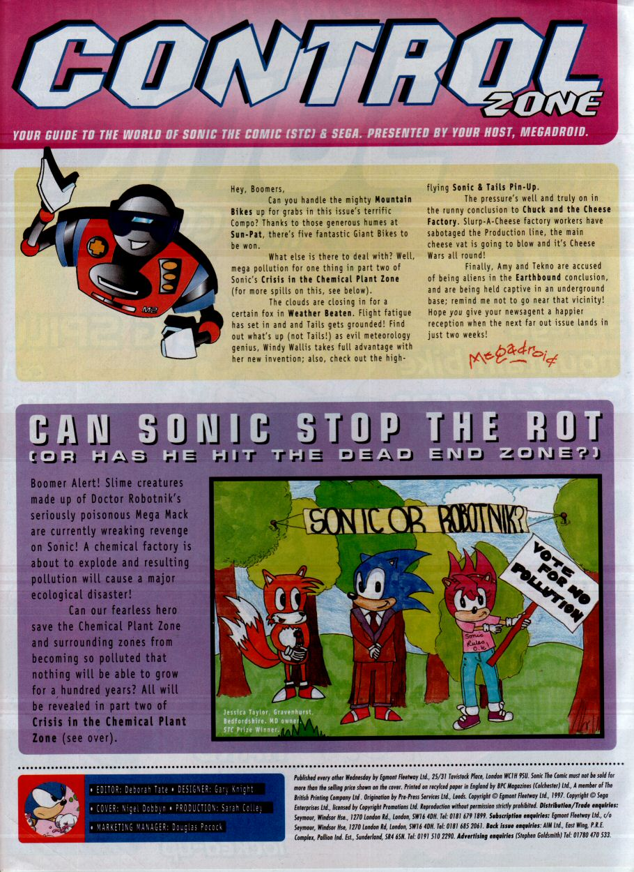 Read online Sonic the Comic comic -  Issue #115 - 2