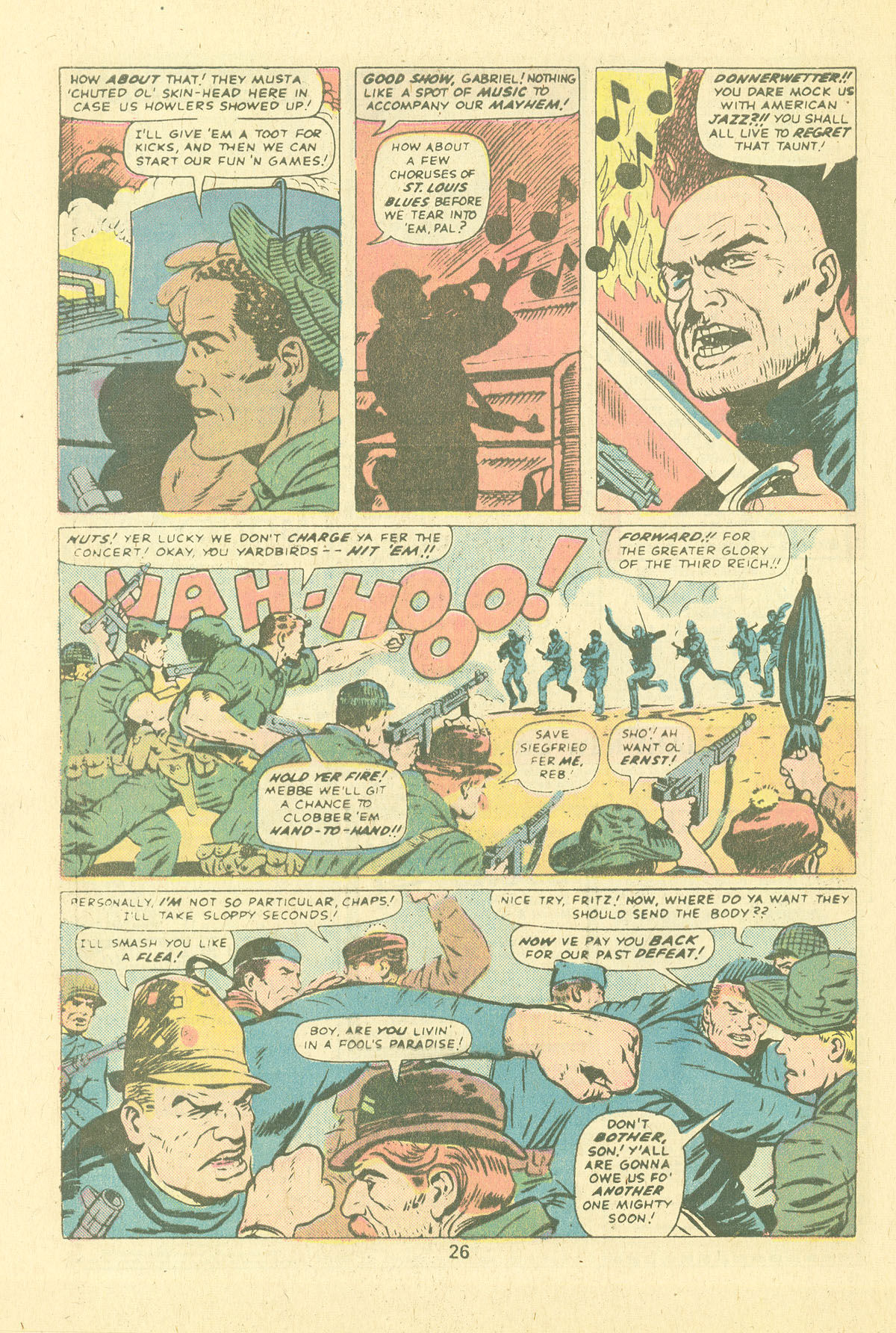 Read online Sgt. Fury comic -  Issue #124 - 28