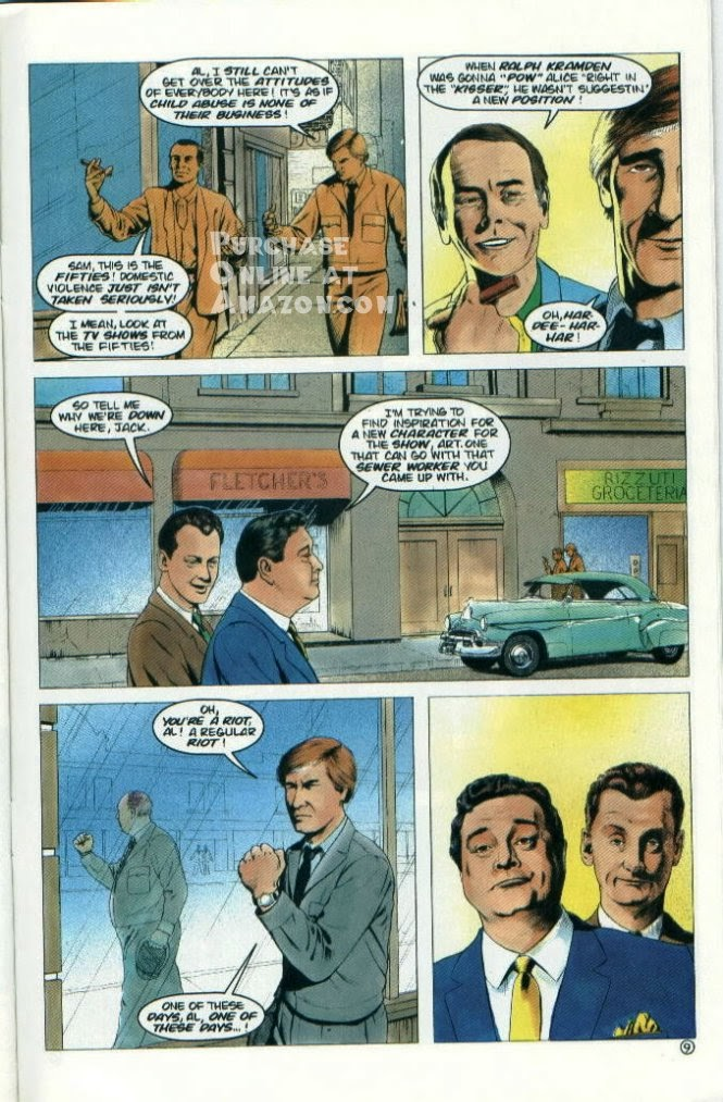 Read online Quantum Leap comic -  Issue #7 - 25