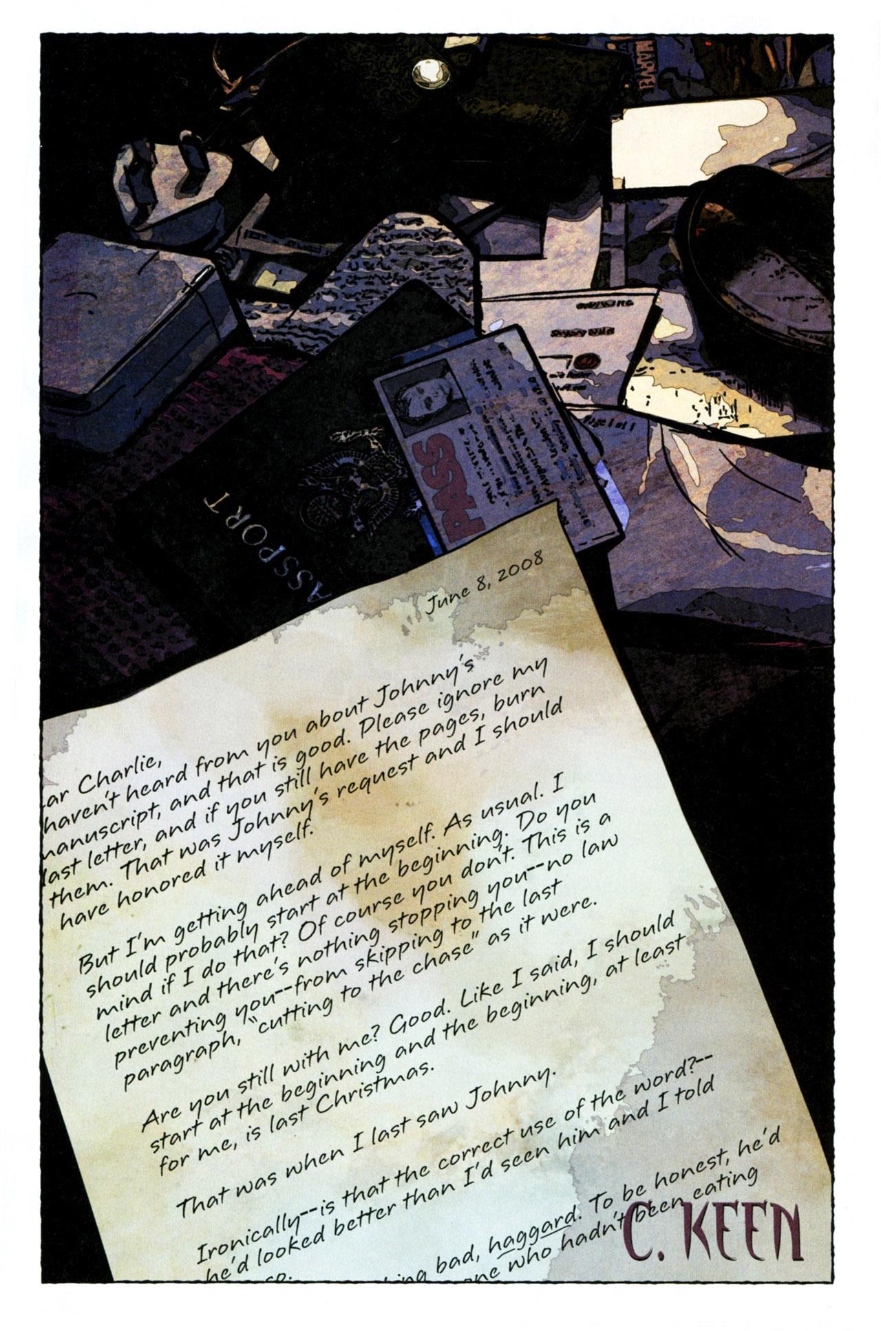 Read online Stephen King's N. comic -  Issue #4 - 4
