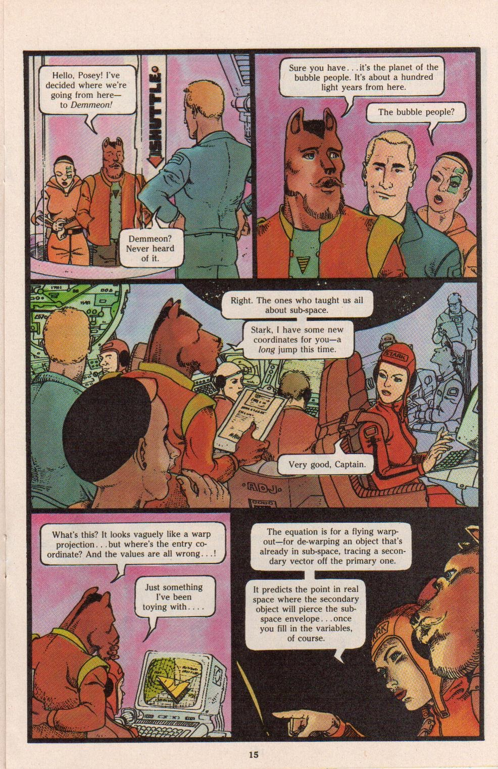 Read online Dalgoda comic -  Issue #7 - 17