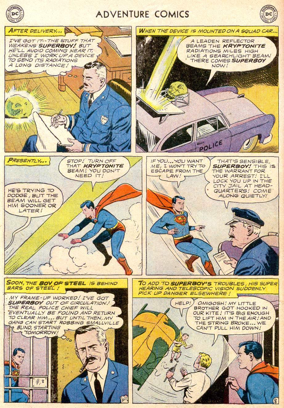 Read online Adventure Comics (1938) comic -  Issue #256 - 10