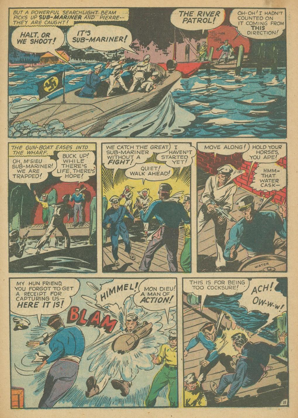 Read online All-Winners Comics comic -  Issue #8 - 39