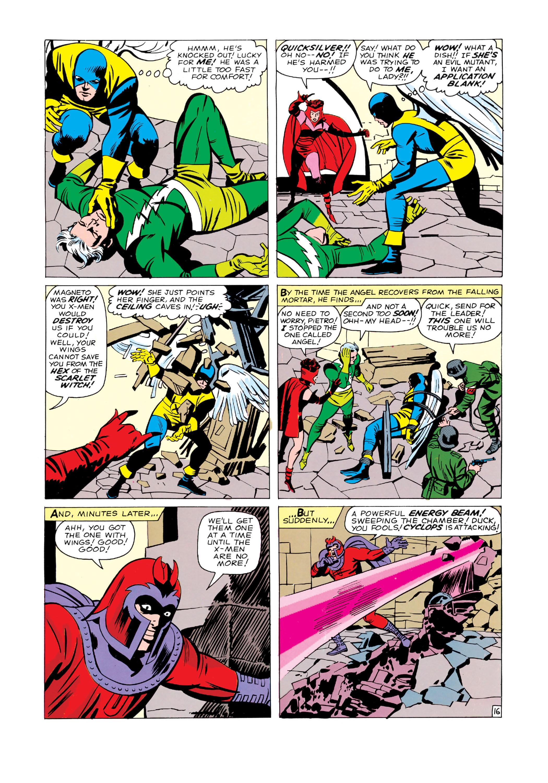Read online Uncanny X-Men (1963) comic -  Issue #4 - 17