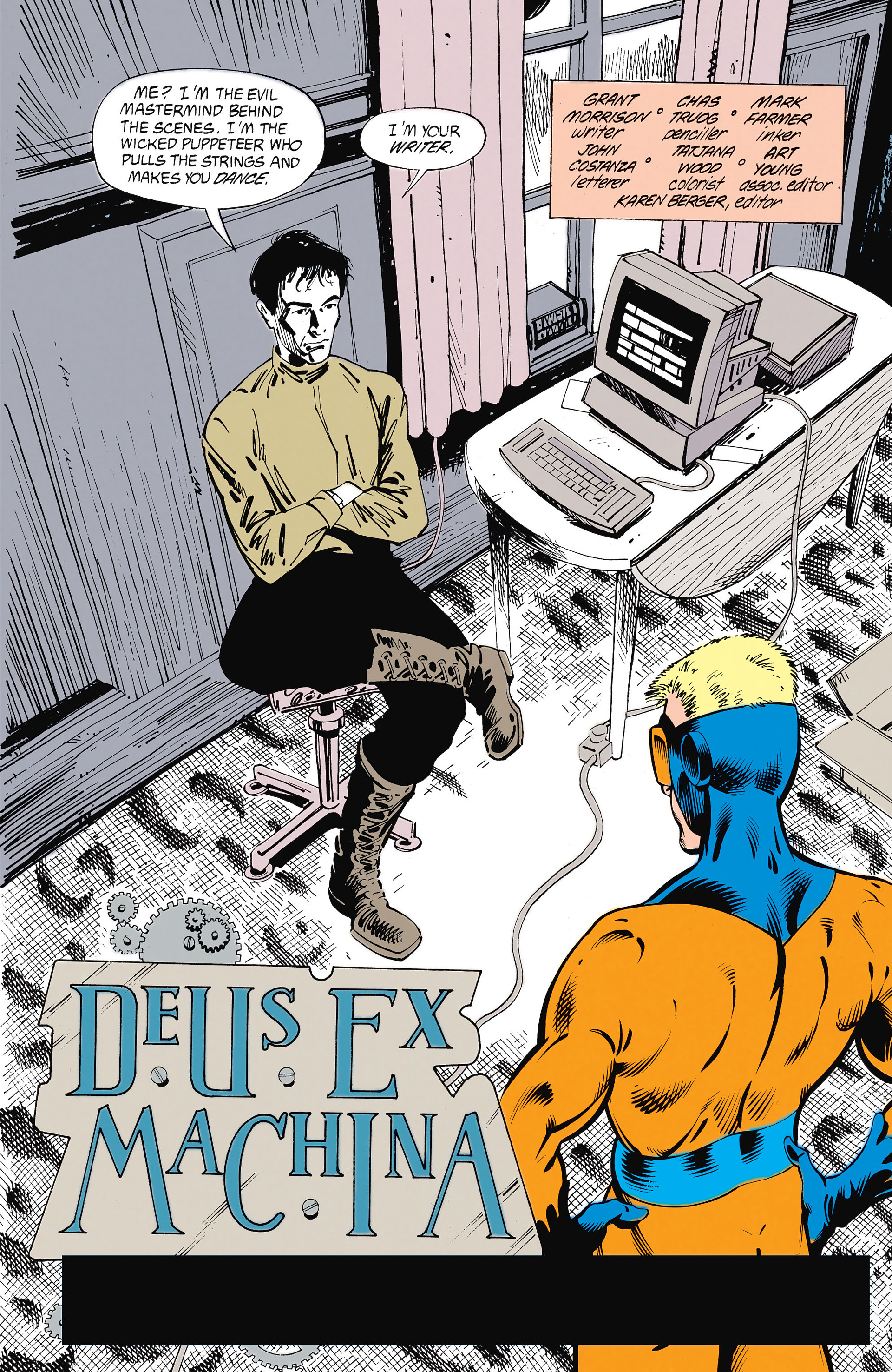 Read online Animal Man (1988) comic -  Issue #26 - 3