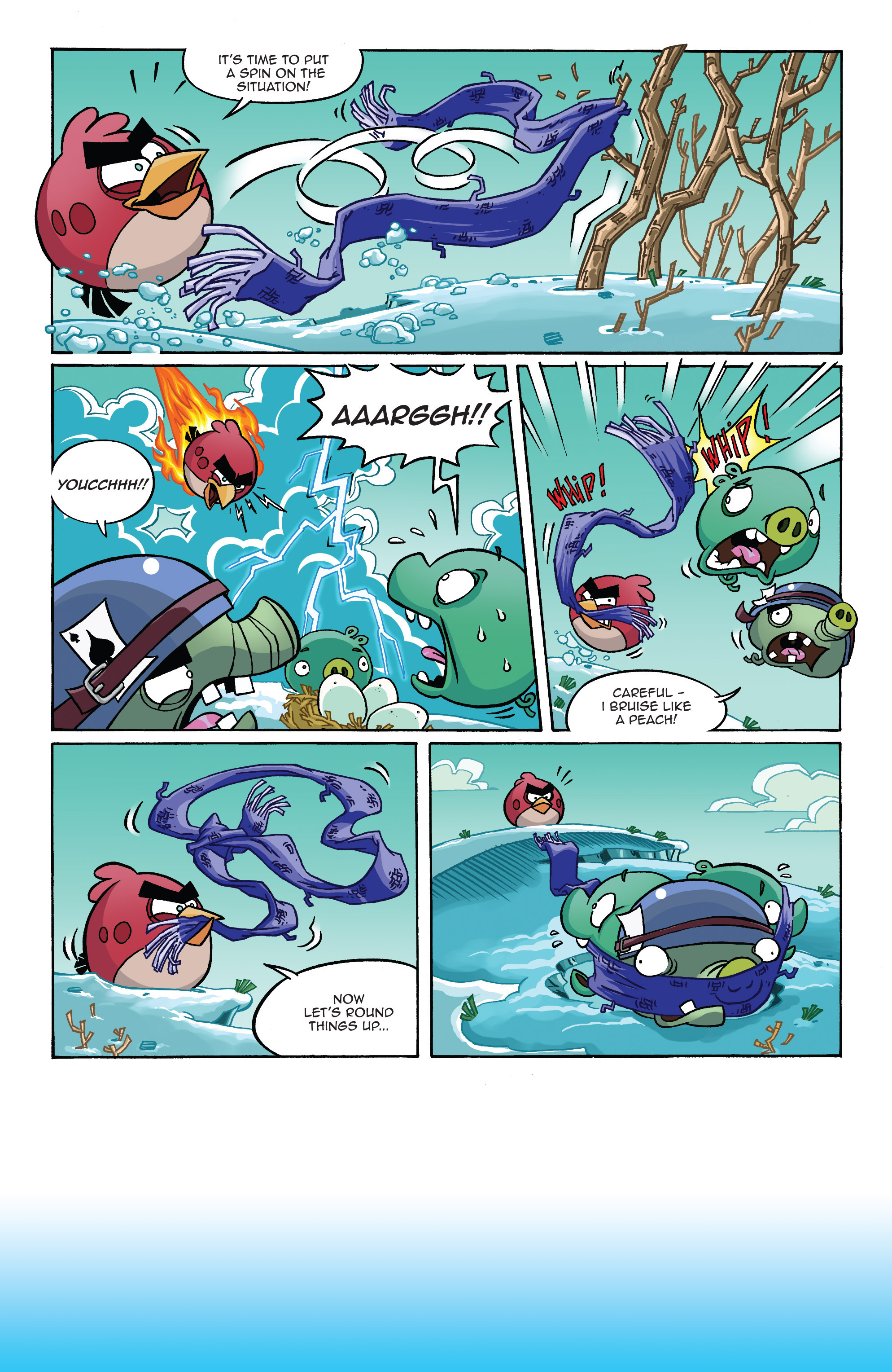 Read online Angry Birds Comics (2014) comic -  Issue #10 - 18
