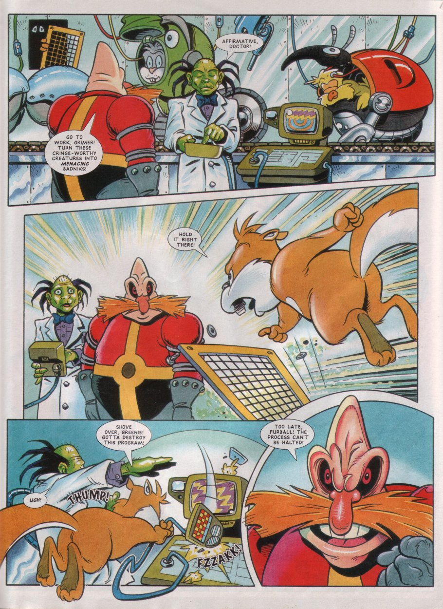 Read online Sonic the Comic comic -  Issue #45 - 23