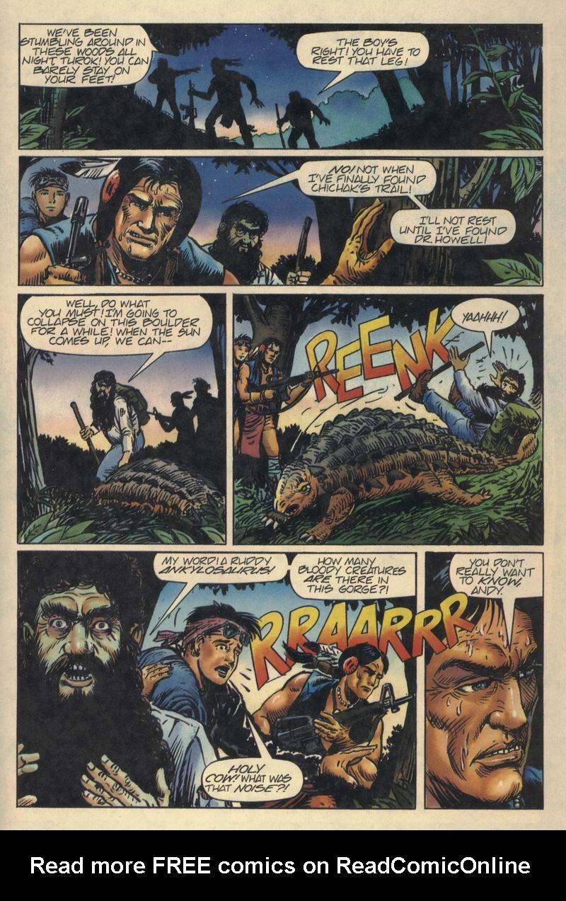 Read online Turok, Dinosaur Hunter (1993) comic -  Issue #8 - 21