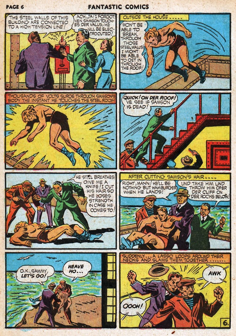 Read online Fantastic Comics comic -  Issue #20 - 7