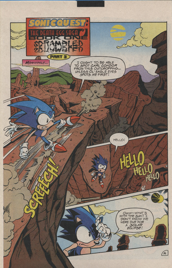 Read online Sonic Quest - The Death Egg Saga comic -  Issue #1 - 24