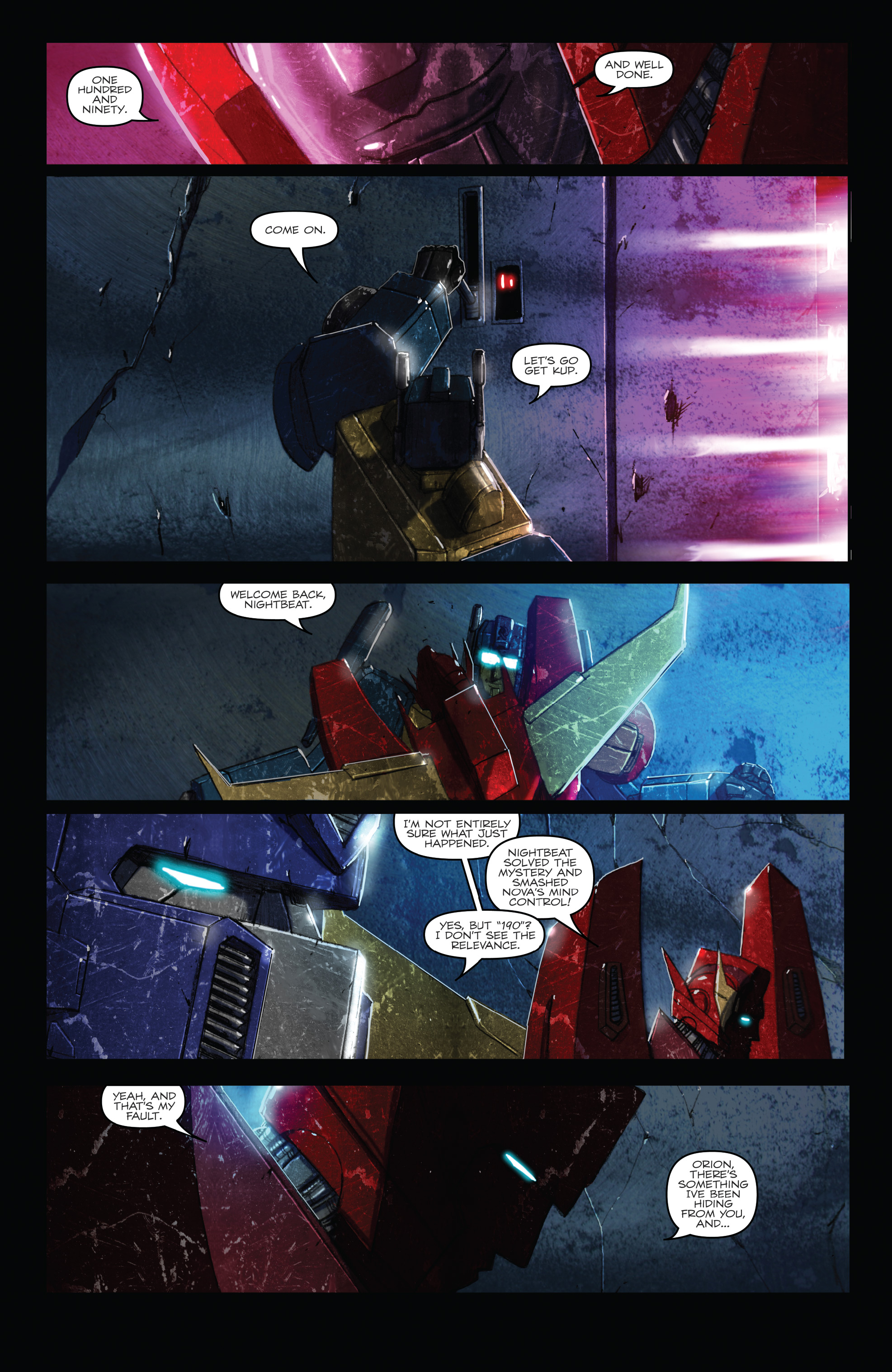 Read online The Transformers: Dark Cybertron Finale comic -  Issue # Full - 19
