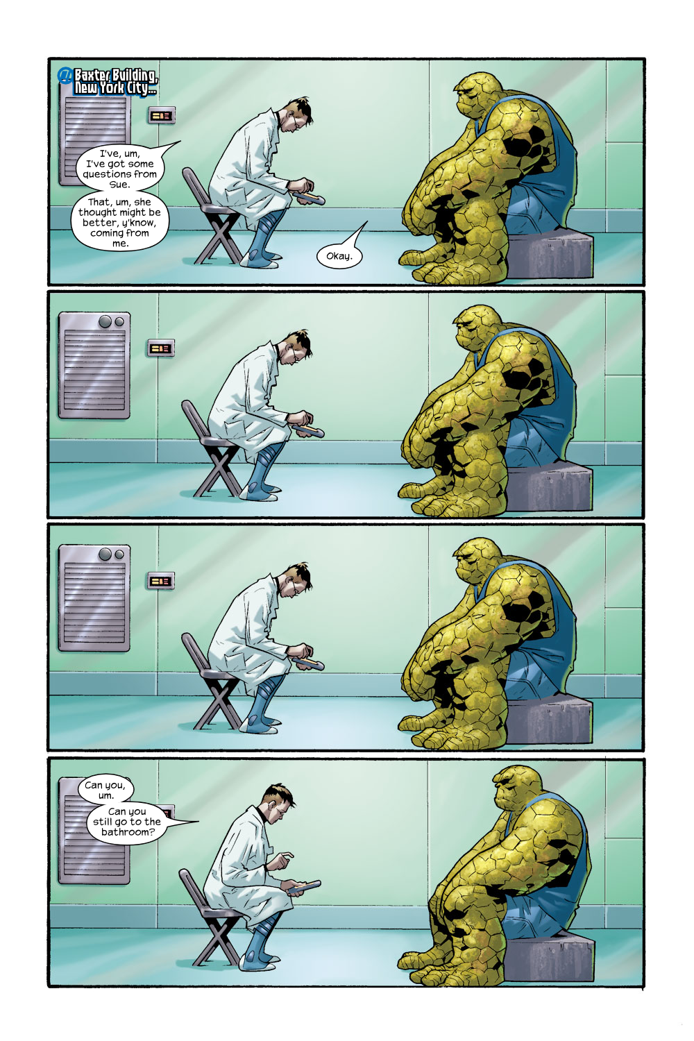 Read online Ultimate Fantastic Four (2004) comic -  Issue #8 - 4