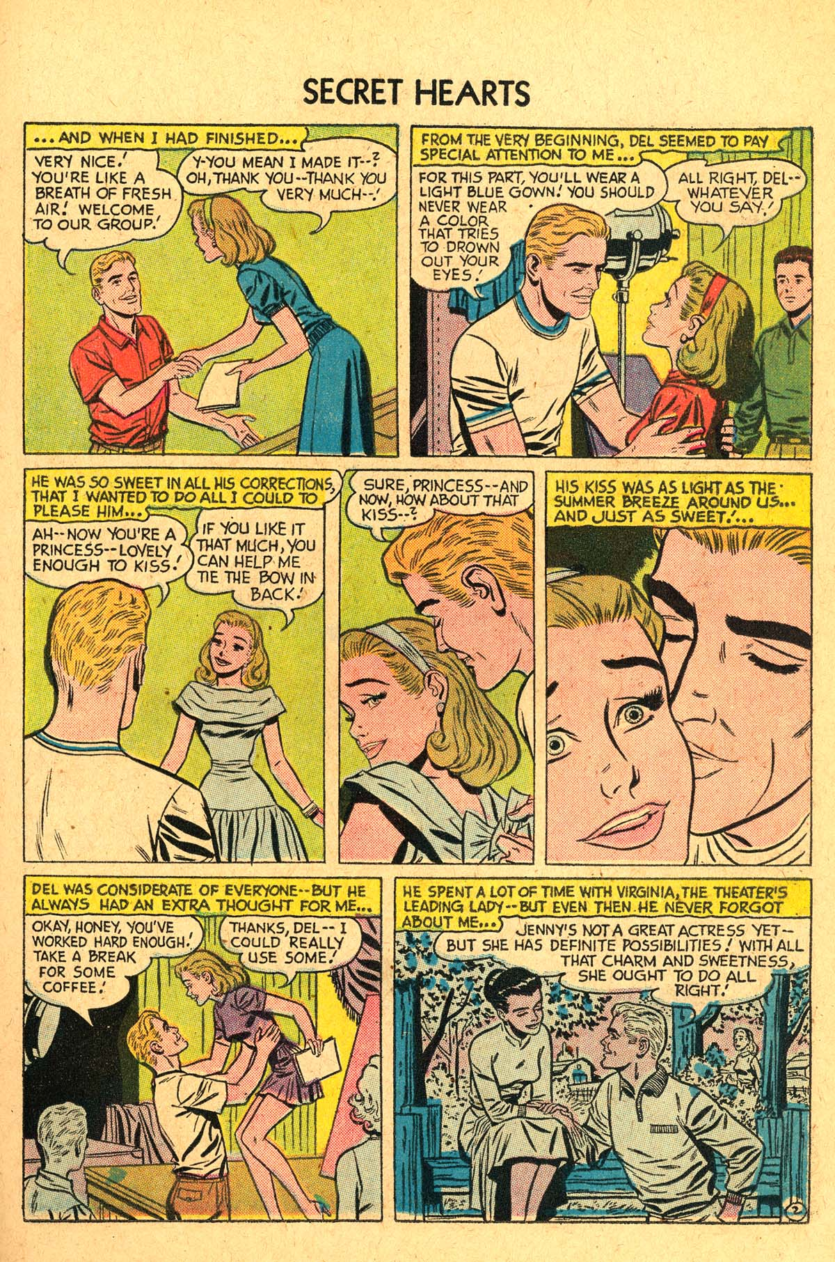 Read online Secret Hearts comic -  Issue #40 - 11