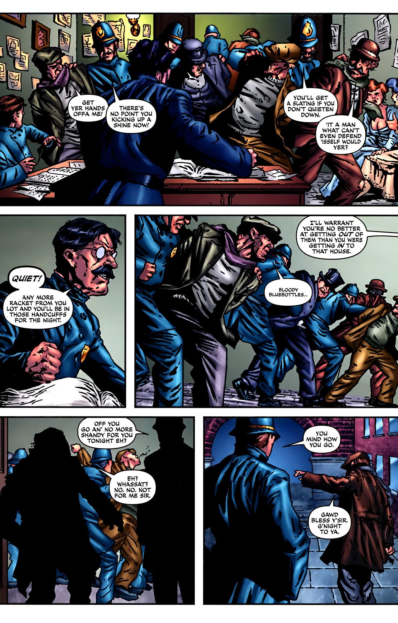 Read online Sherlock Holmes (2009) comic -  Issue #2 - 17