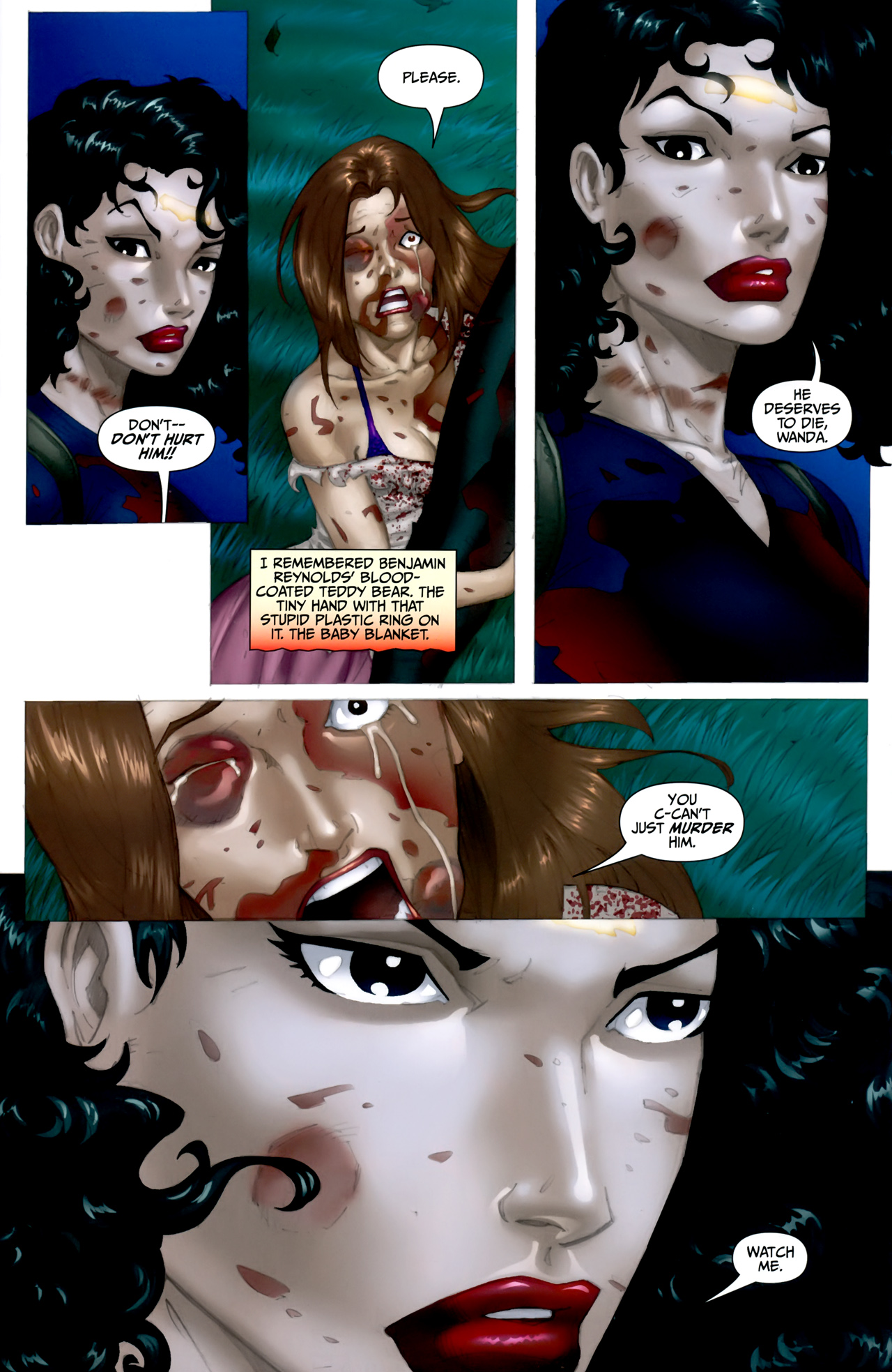 Read online Anita Blake: The Laughing Corpse - Executioner comic -  Issue #5 - 14
