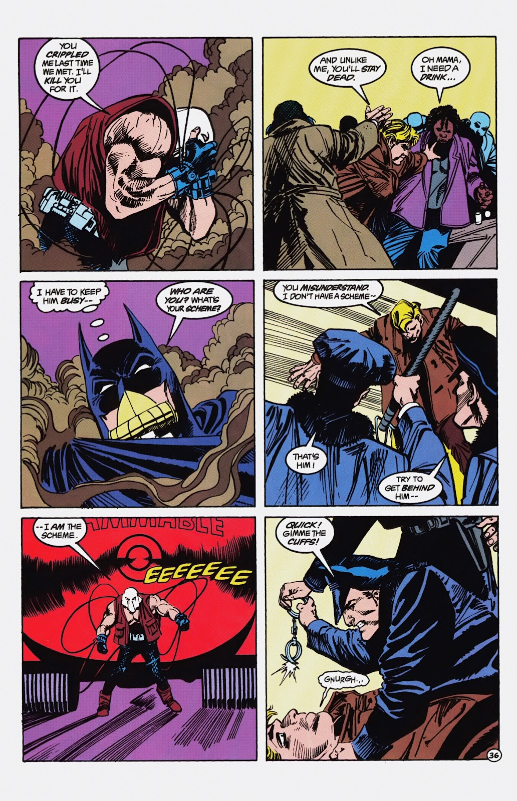 Read online Detective Comics (1937) comic -  Issue # _TPB Batman - Blind Justice (Part 1) - 41