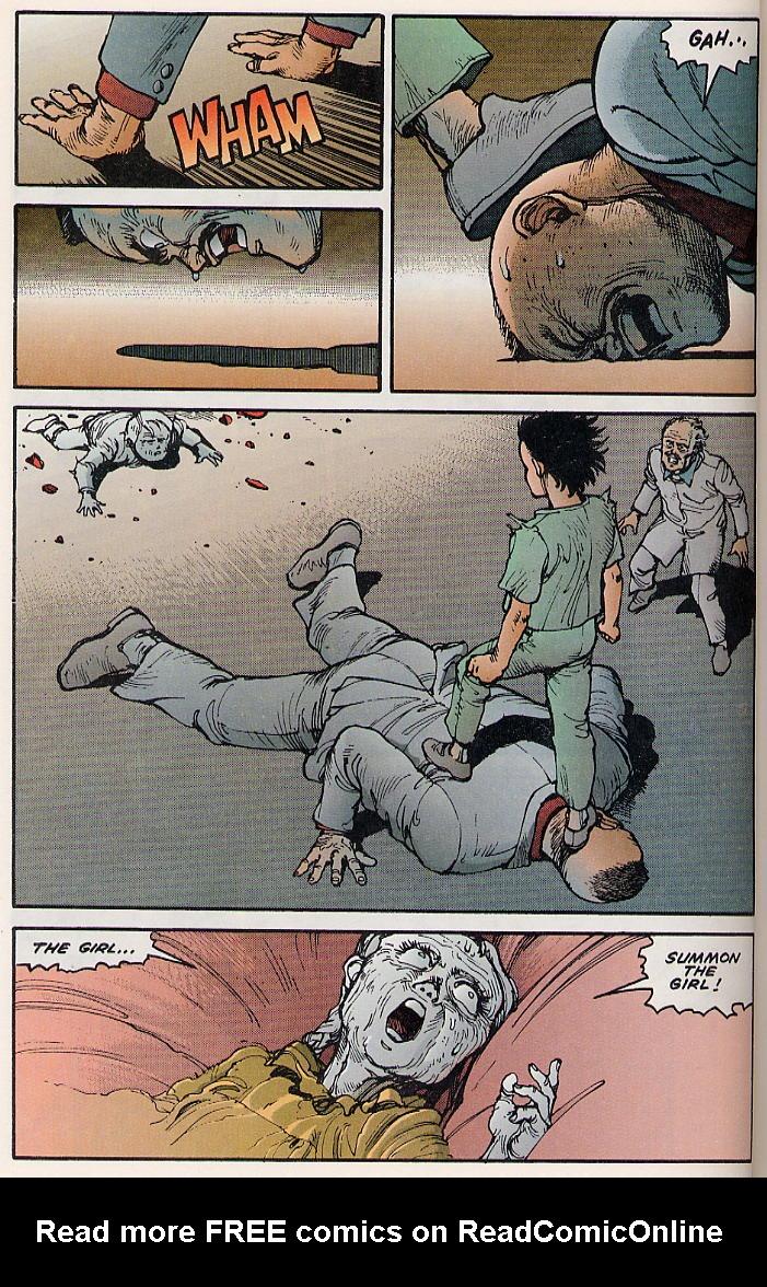 Read online Akira comic -  Issue #8 - 38