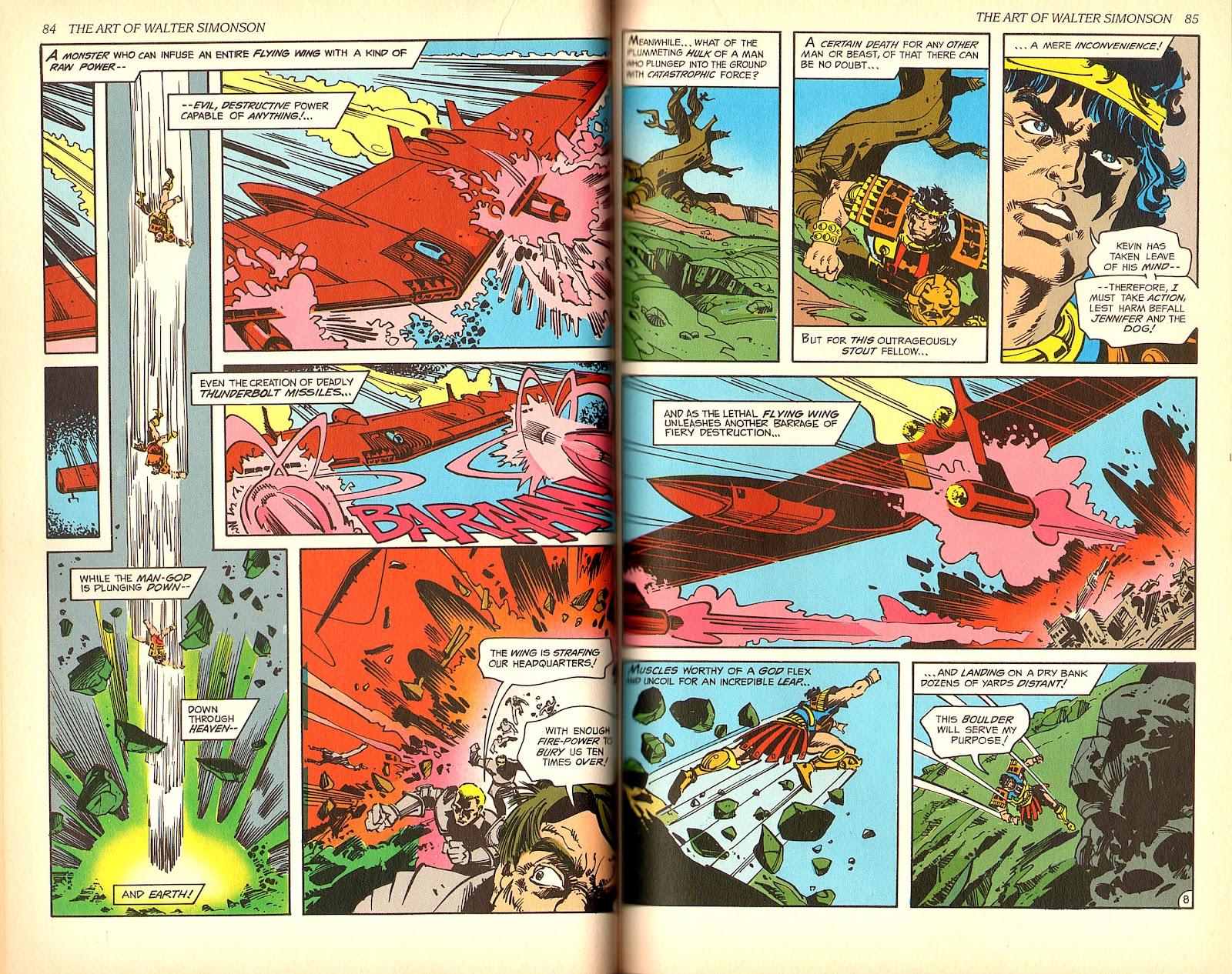 Read online The Art of Walter Simonson comic -  Issue # TPB - 44