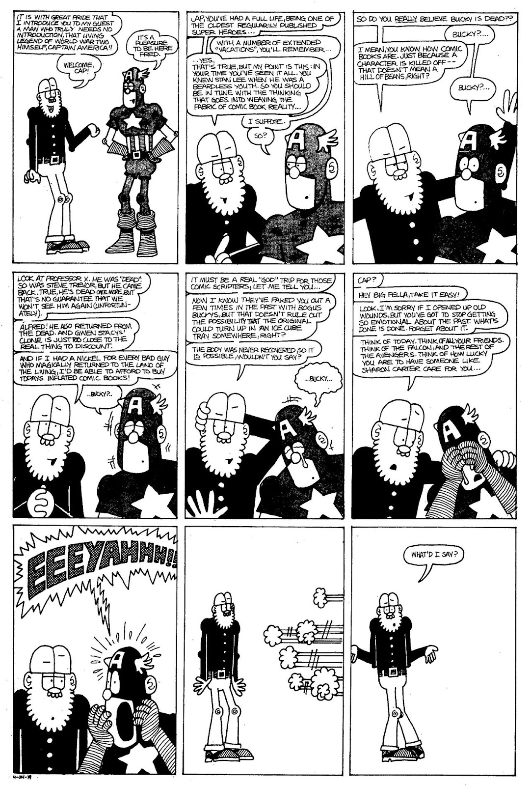 Read online The Nearly Complete Essential Hembeck Archives Omnibus comic -  Issue # TPB (Part 3) - 6