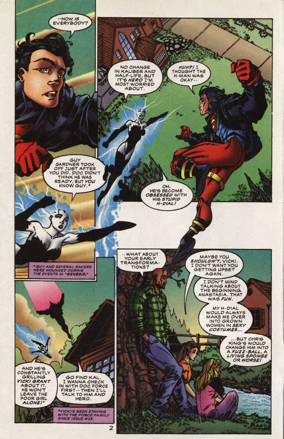 Superboy & The Ravers issue 15 - Page 3