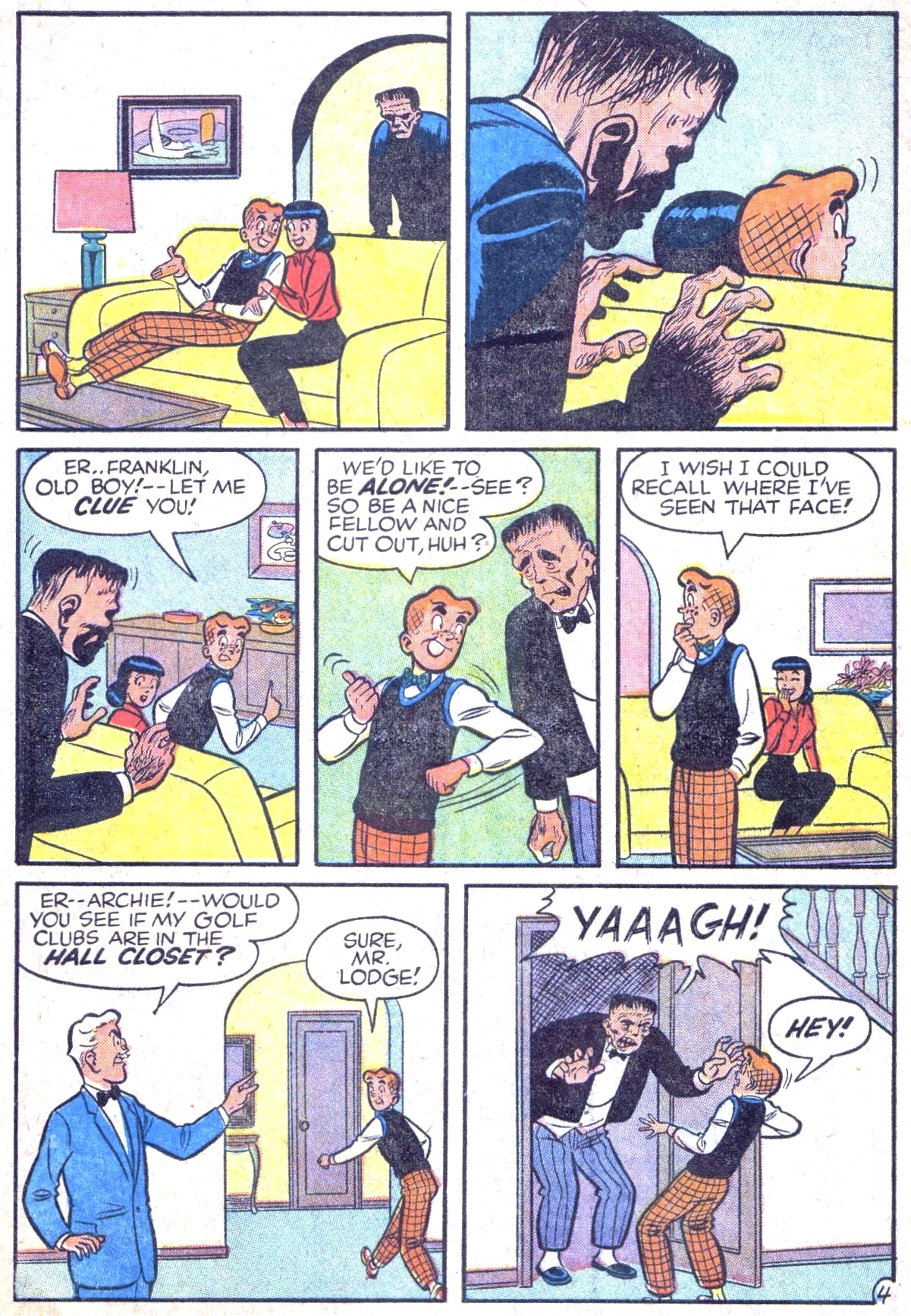 Read online Archie (1960) comic -  Issue #125 - 6
