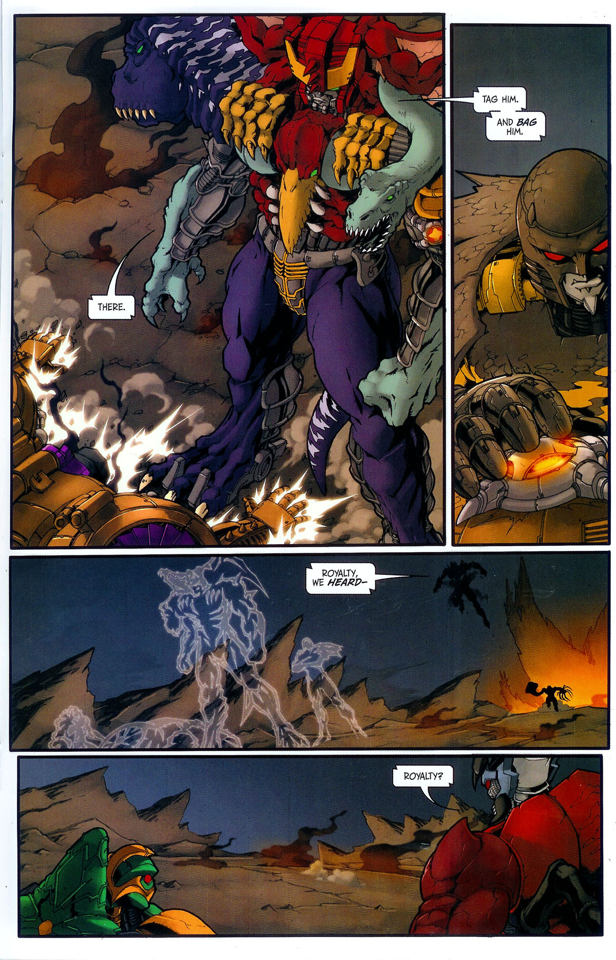 Read online Transformers, Beast Wars: The Gathering comic -  Issue #3 - 20