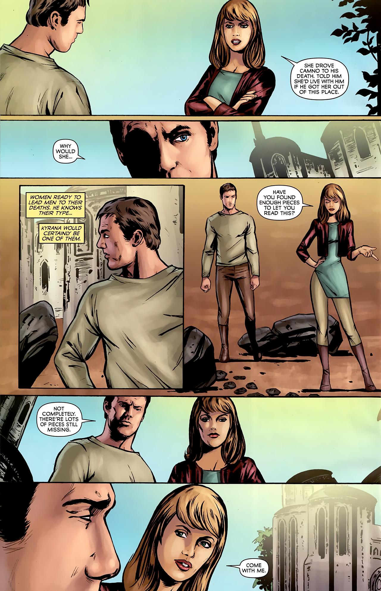 Read online Stargate: Daniel Jackson comic -  Issue #2 - 16