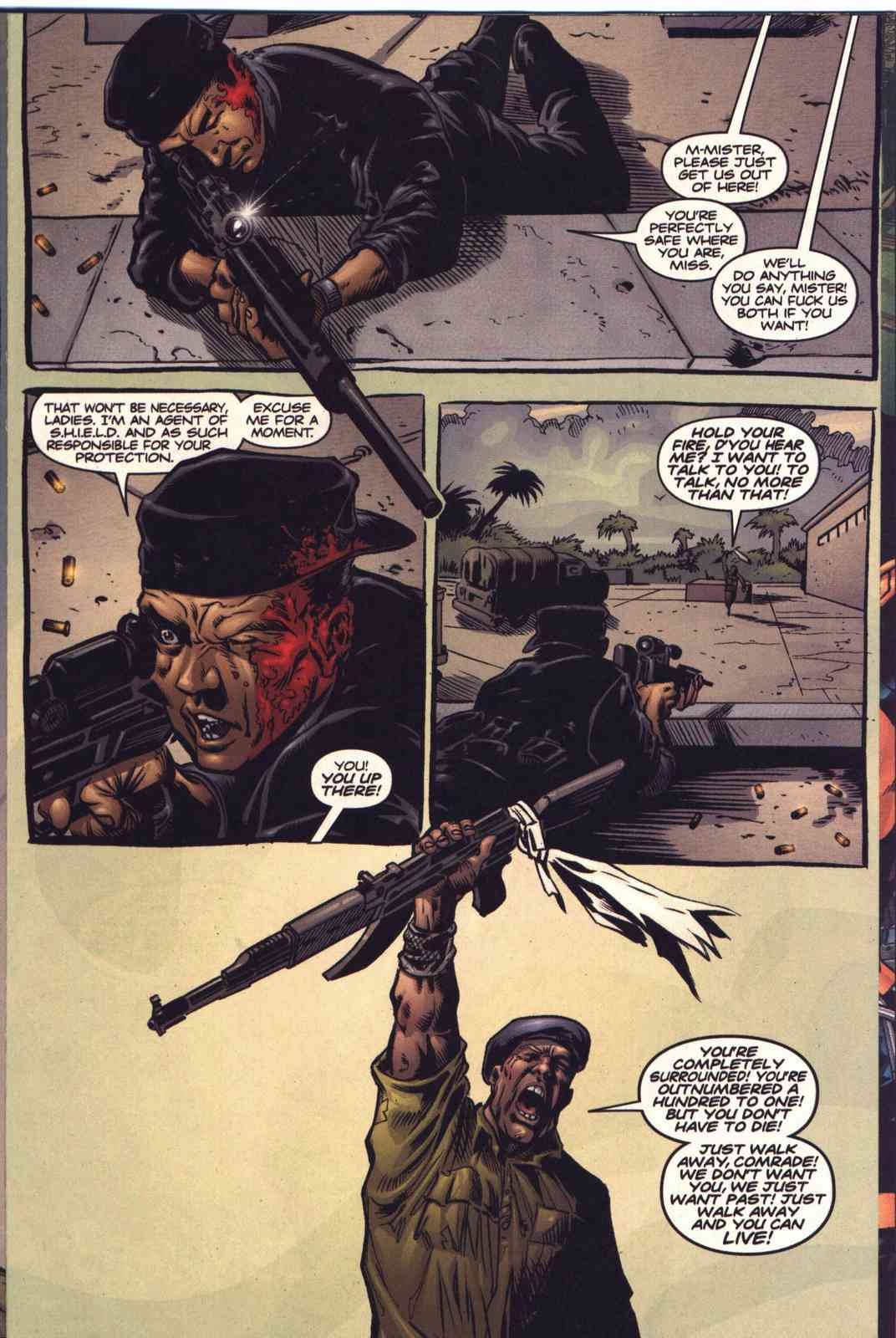 Read online Fury comic -  Issue #5 - 13