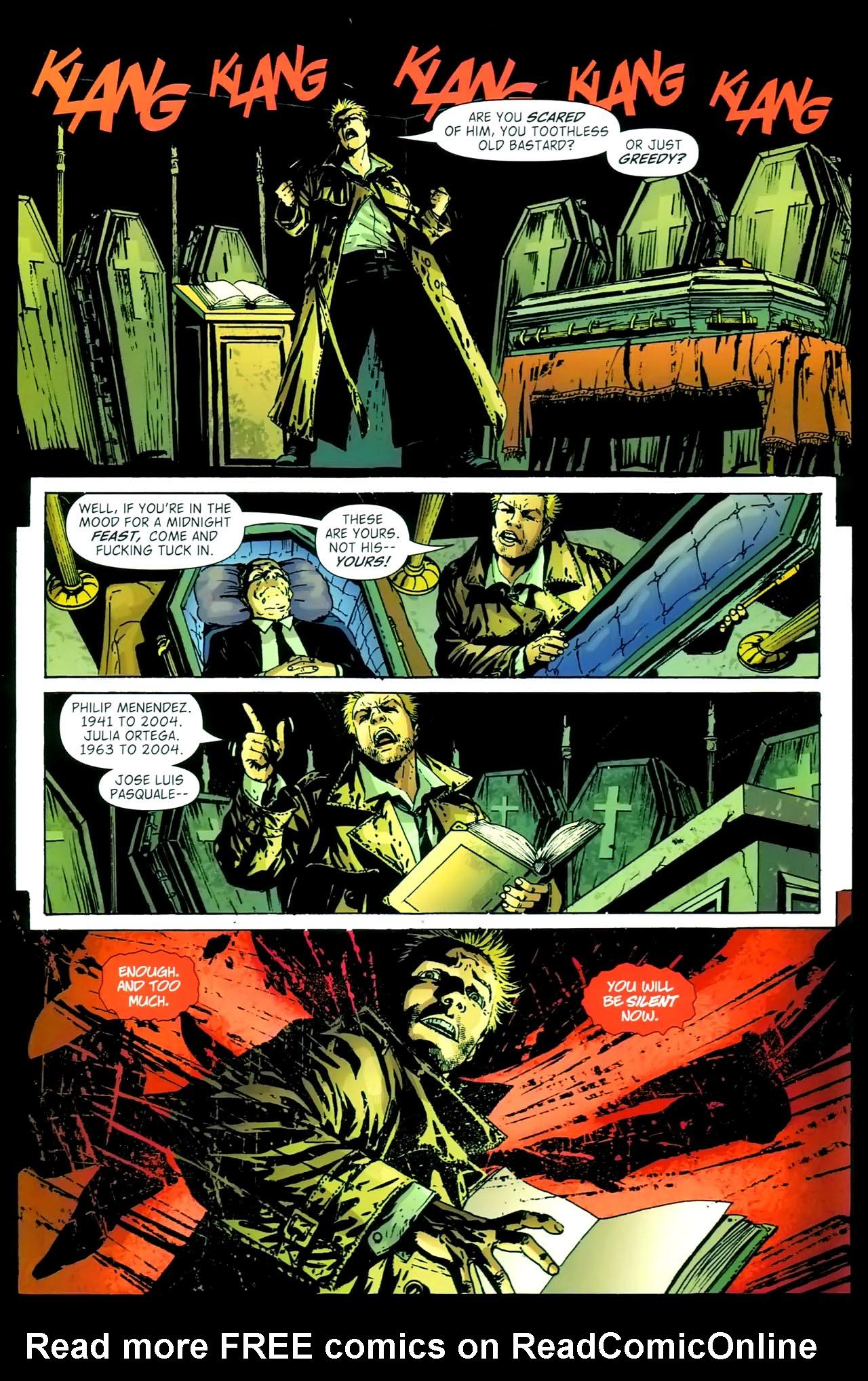 Read online John Constantine Hellblazer: All His Engines comic -  Issue # Full - 90
