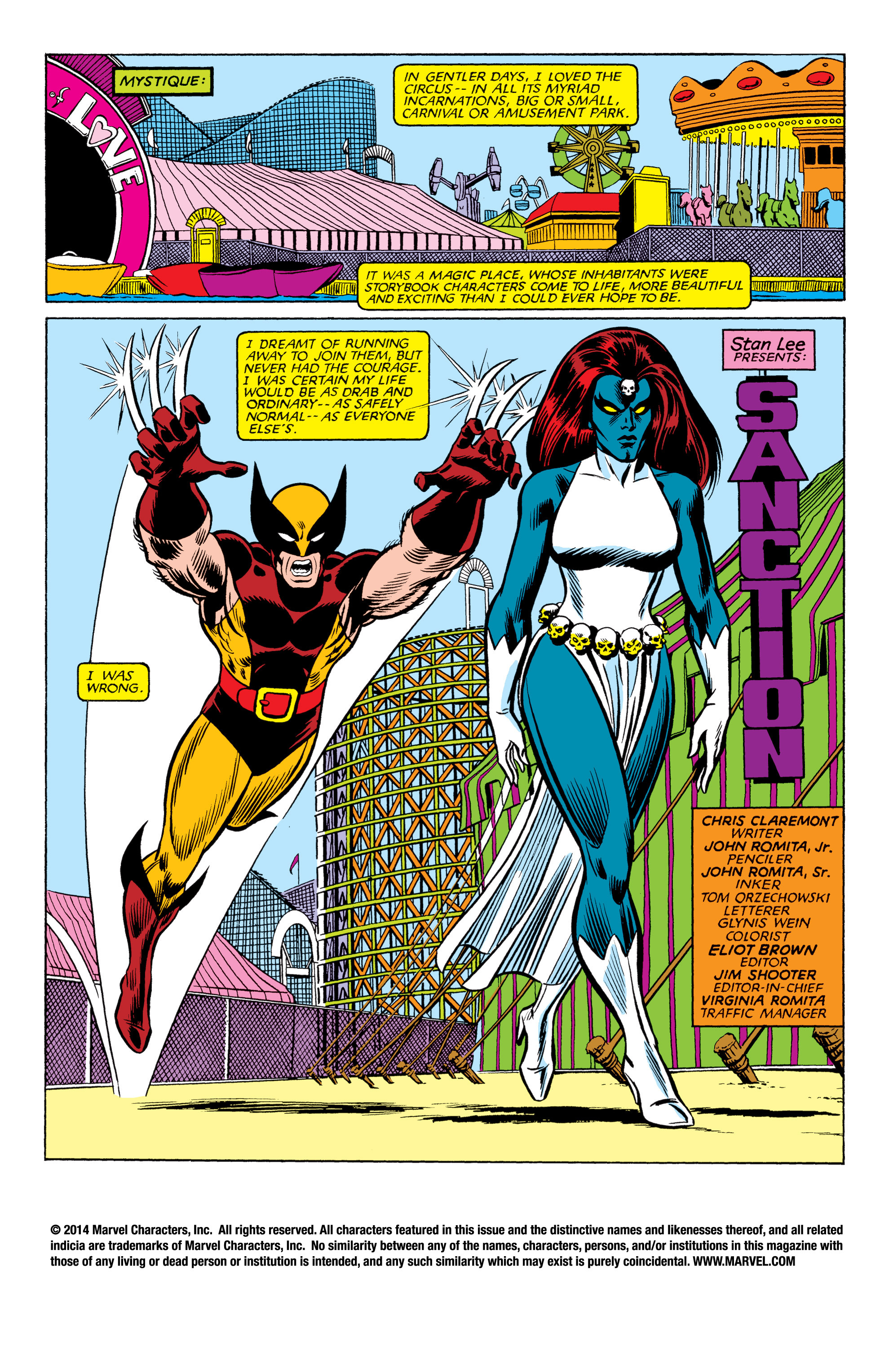Read online Uncanny X-Men (1963) comic -  Issue #177 - 2