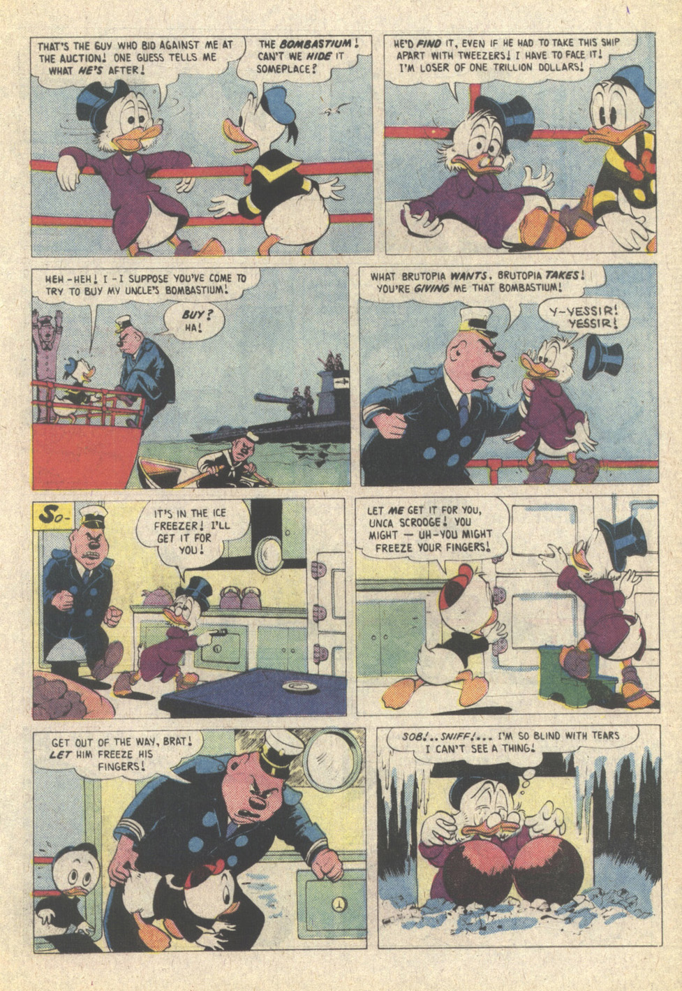 Read online Uncle Scrooge (1953) comic -  Issue #215 - 17