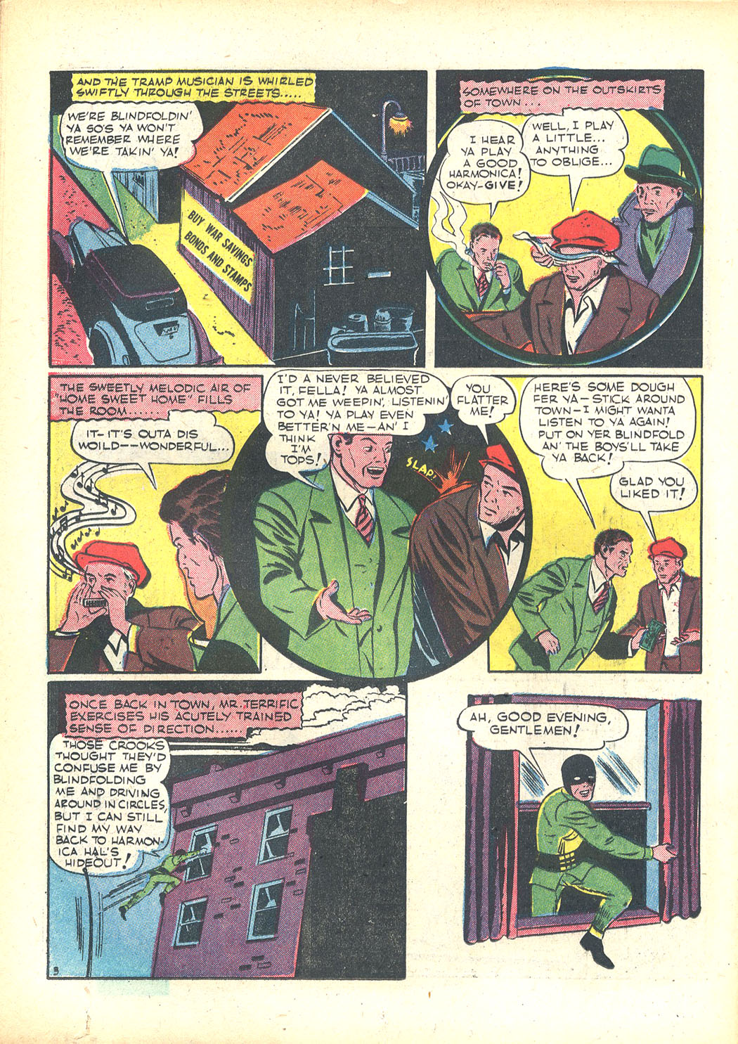 Read online Sensation (Mystery) Comics comic -  Issue #23 - 46