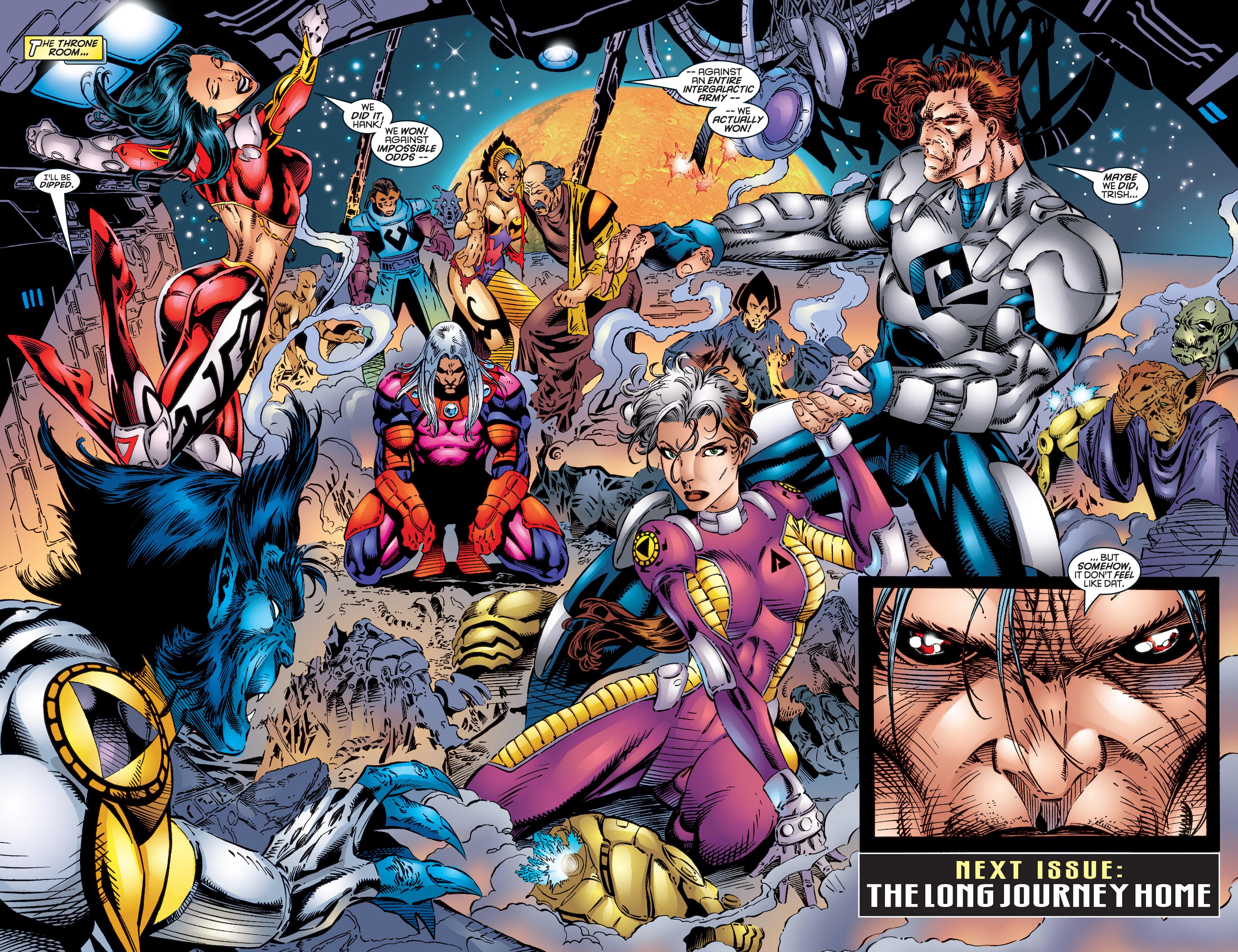 Read online Uncanny X-Men (1963) comic -  Issue #344 - 22