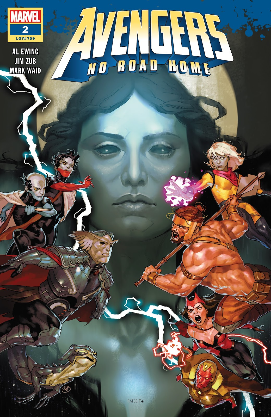 Read online Avengers No Road Home comic -  Issue #2 - 1