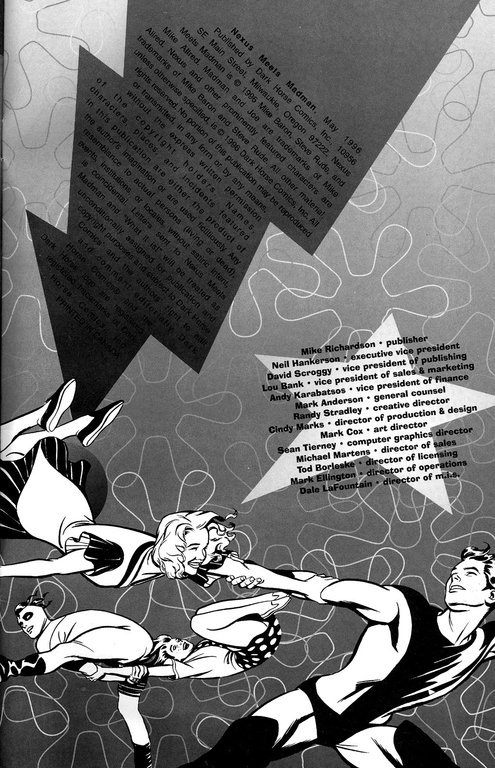 Read online Nexus Meets Madman comic -  Issue # Full - 31
