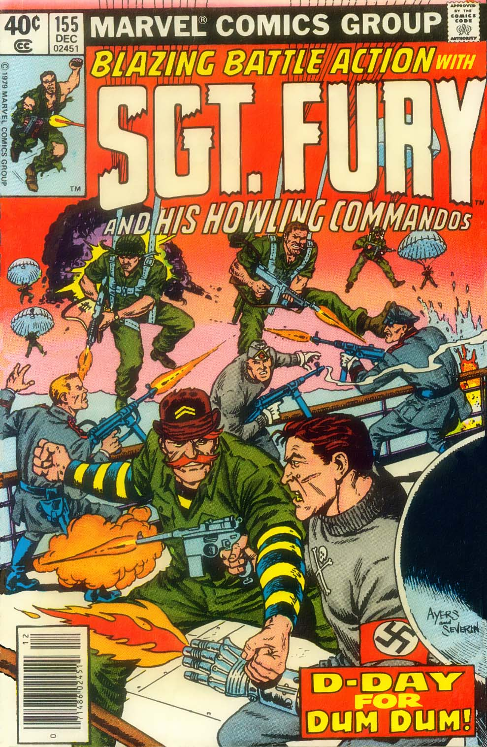 Sgt. Fury issue 155 - Page 1