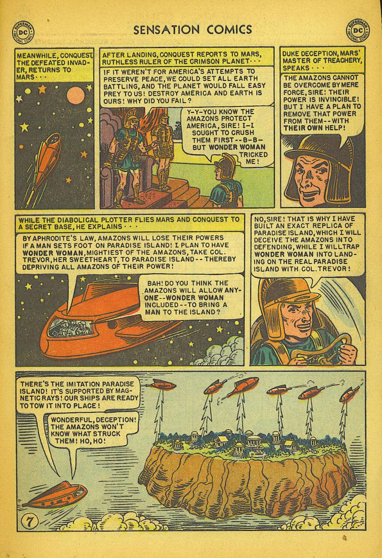 Read online Sensation (Mystery) Comics comic -  Issue #104 - 9