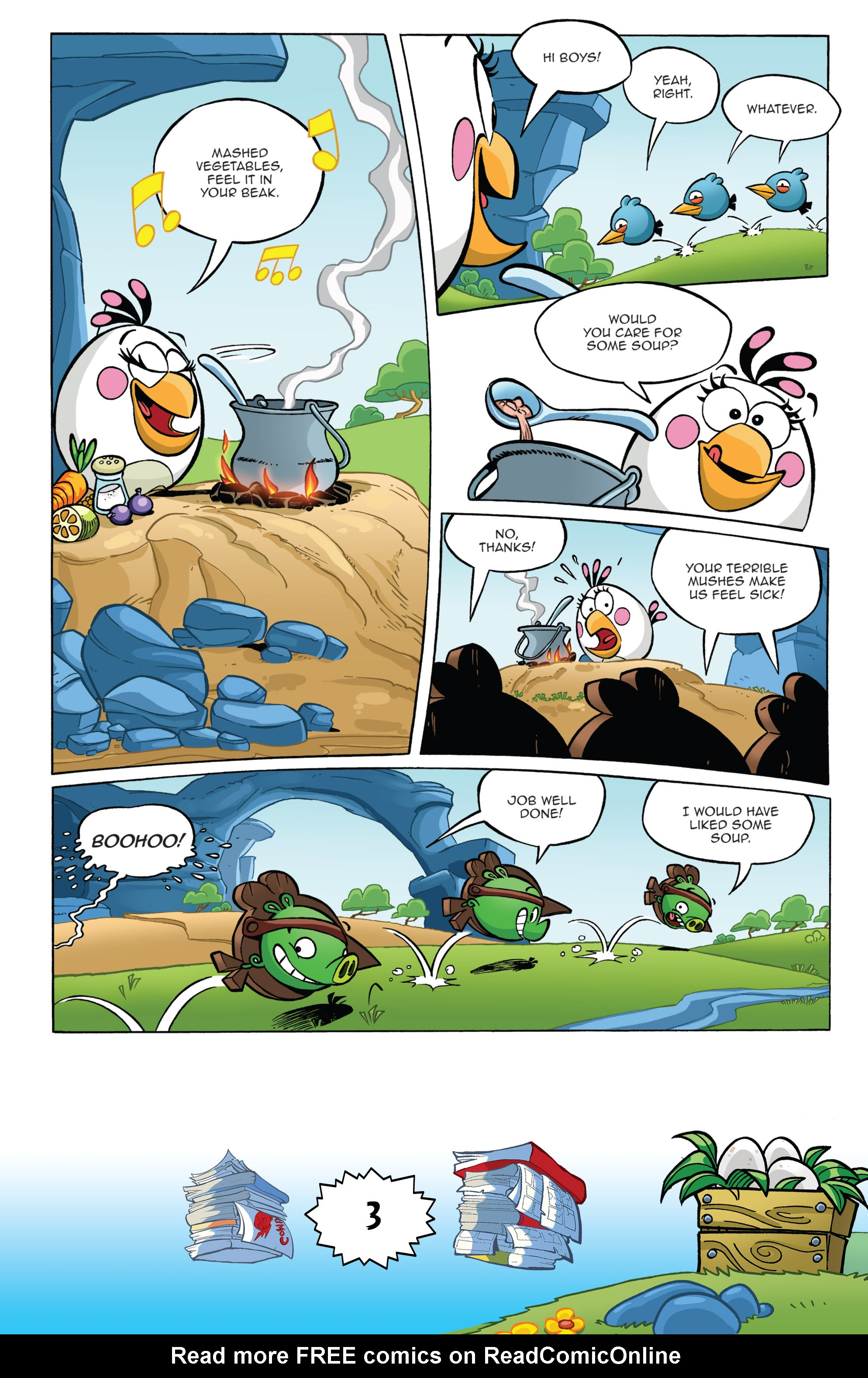 Read online Angry Birds Comics (2016) comic -  Issue #6 - 5