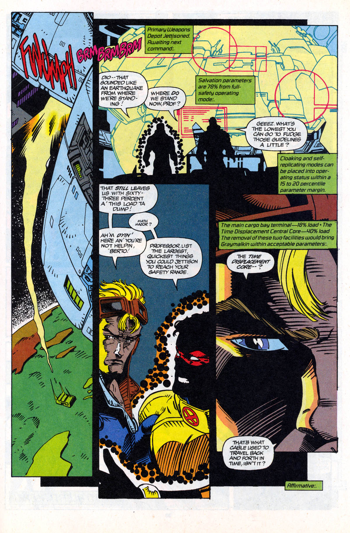 Read online X-Force (1991) comic -  Issue #21 - 30