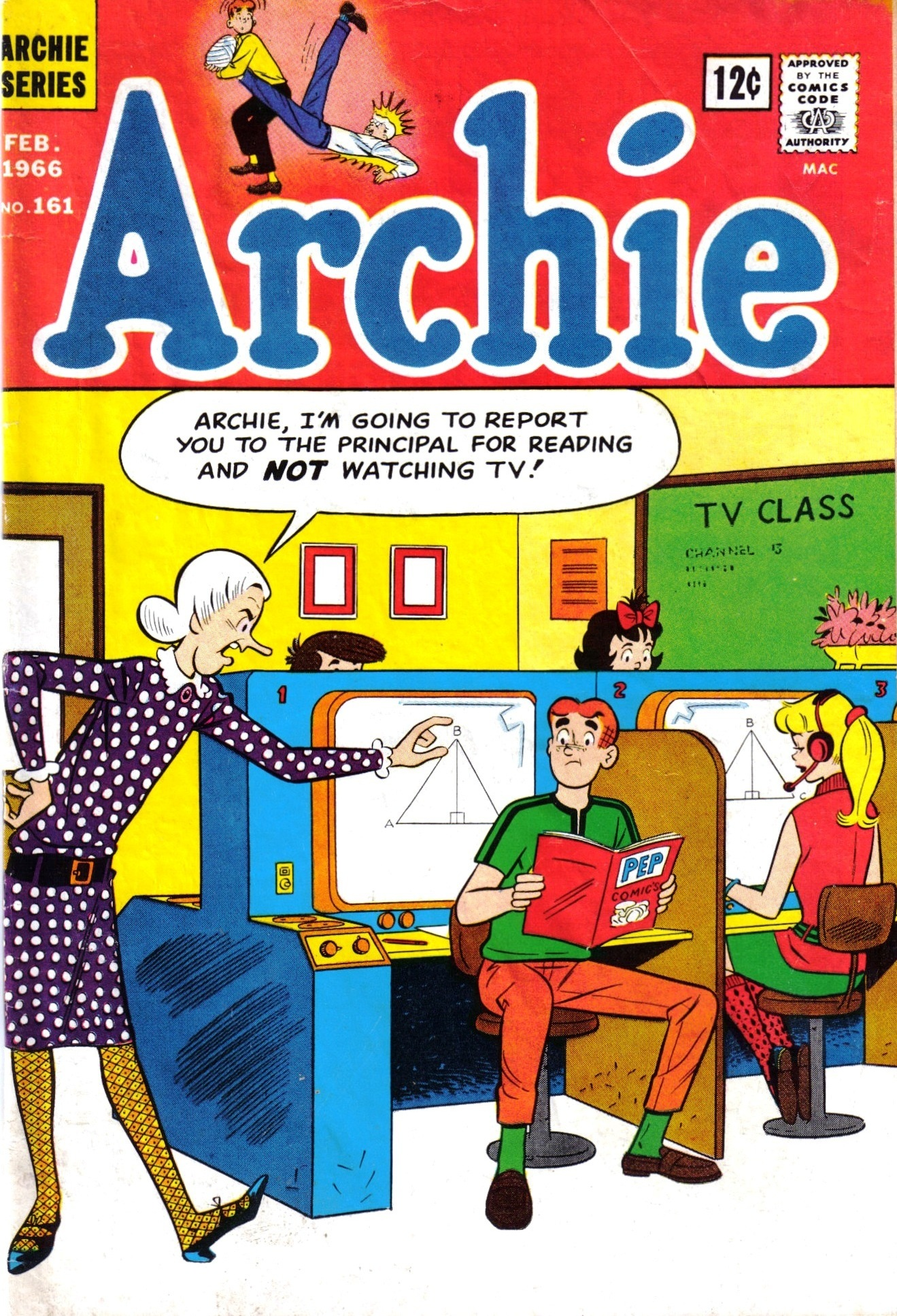 Read online Archie (1960) comic -  Issue #161 - 1
