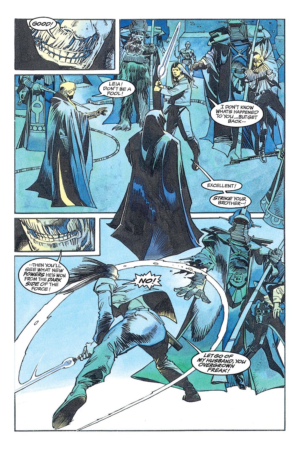 Read online Star Wars: Dark Empire Trilogy comic -  Issue # TPB (Part 2) - 1