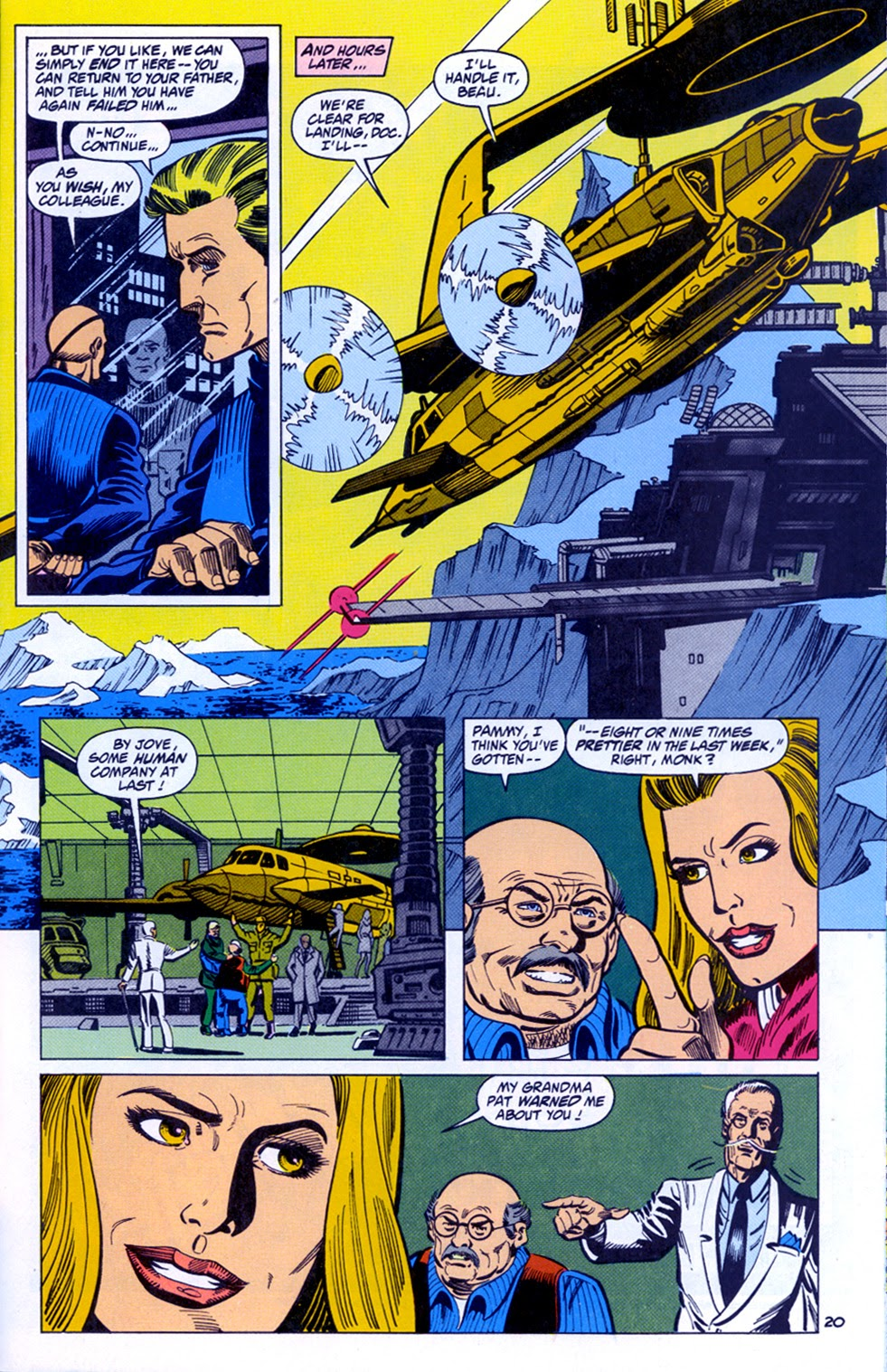 Doc Savage (1988) issue 11 - Page 22