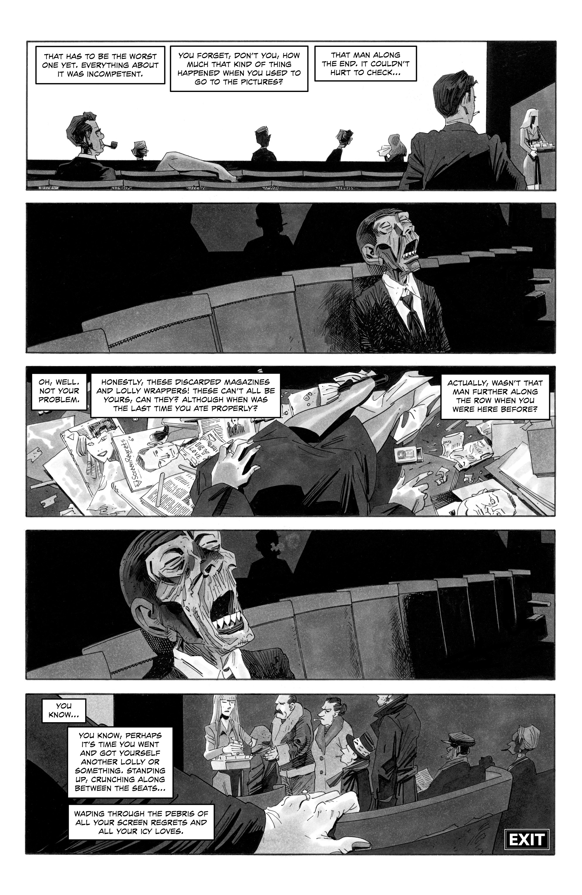 Read online Alan Moore's Cinema Purgatorio comic -  Issue #10 - 9